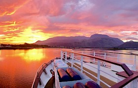 Sunrise at Banavie, Caledonian Canal by James Fairbairns