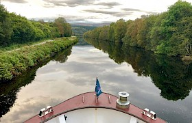 Cruising the Caledonian Canal by James Fairbairms