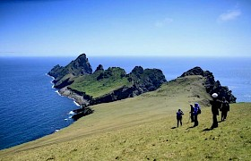 Looking out over Dun, St Kilda