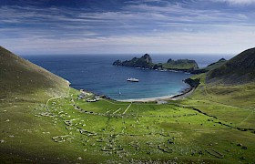 View taken from The Gap of the Village, St Kilda