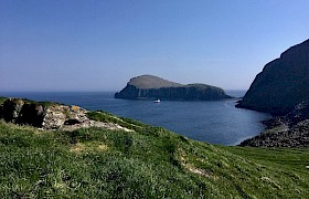 The Shiant Isles from a shore walk