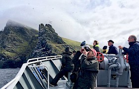 Hebrides Cruises Cruise St Kilda image © James Fairbairns
