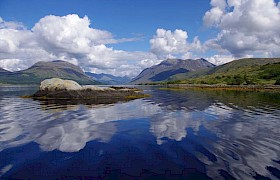 Loch Etive in Spring taken by Rob the Skipper
