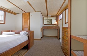 Cabin suite bedroom