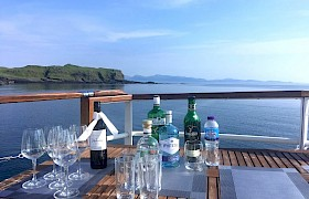 Drinks on deck anyone? Photo Lynsey Bland