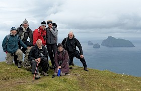 Guests on Connacher St Kilda, photo Chris Gomersall