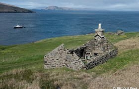 abandoned home Berneray and Elizabeth G