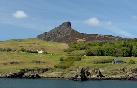 Guests walked the Sgurr of Eigg,