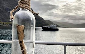 message in a bottle September cruise